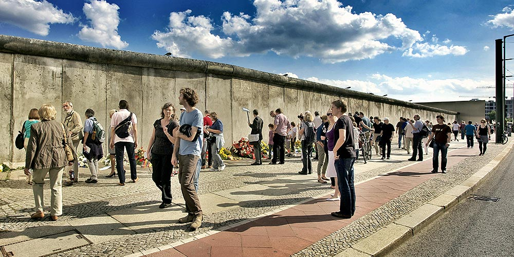 Berliner Mauer in der Bernauer Straße