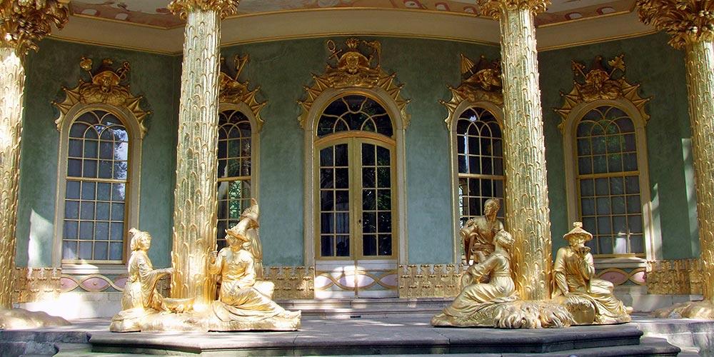 Potsdam Schloss und Park Sanssouci - Chinesisches Haus