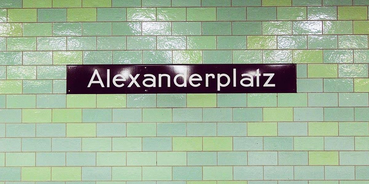 U-Bahn Berlin Alexanderplatz